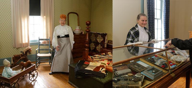 Lynde House Museum Displays