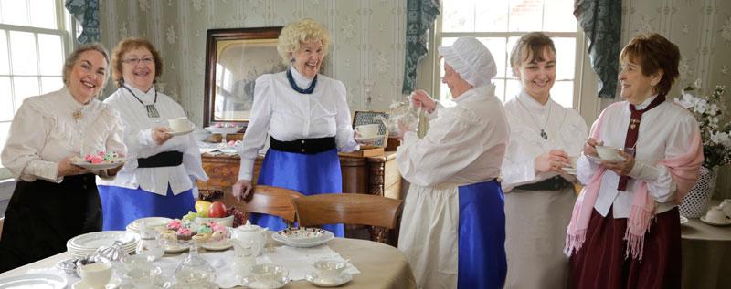 Pouring Tea at Doors Open