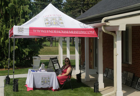 Lynde House Pop Up Tent